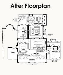 Home Plans Greenfield Indiana likewise U Shaped Houses together with In Law Suite also Peachtree battle farm house furthermore One Story Mediterranean House Plans And A Half. on home for a three car garage addition designs