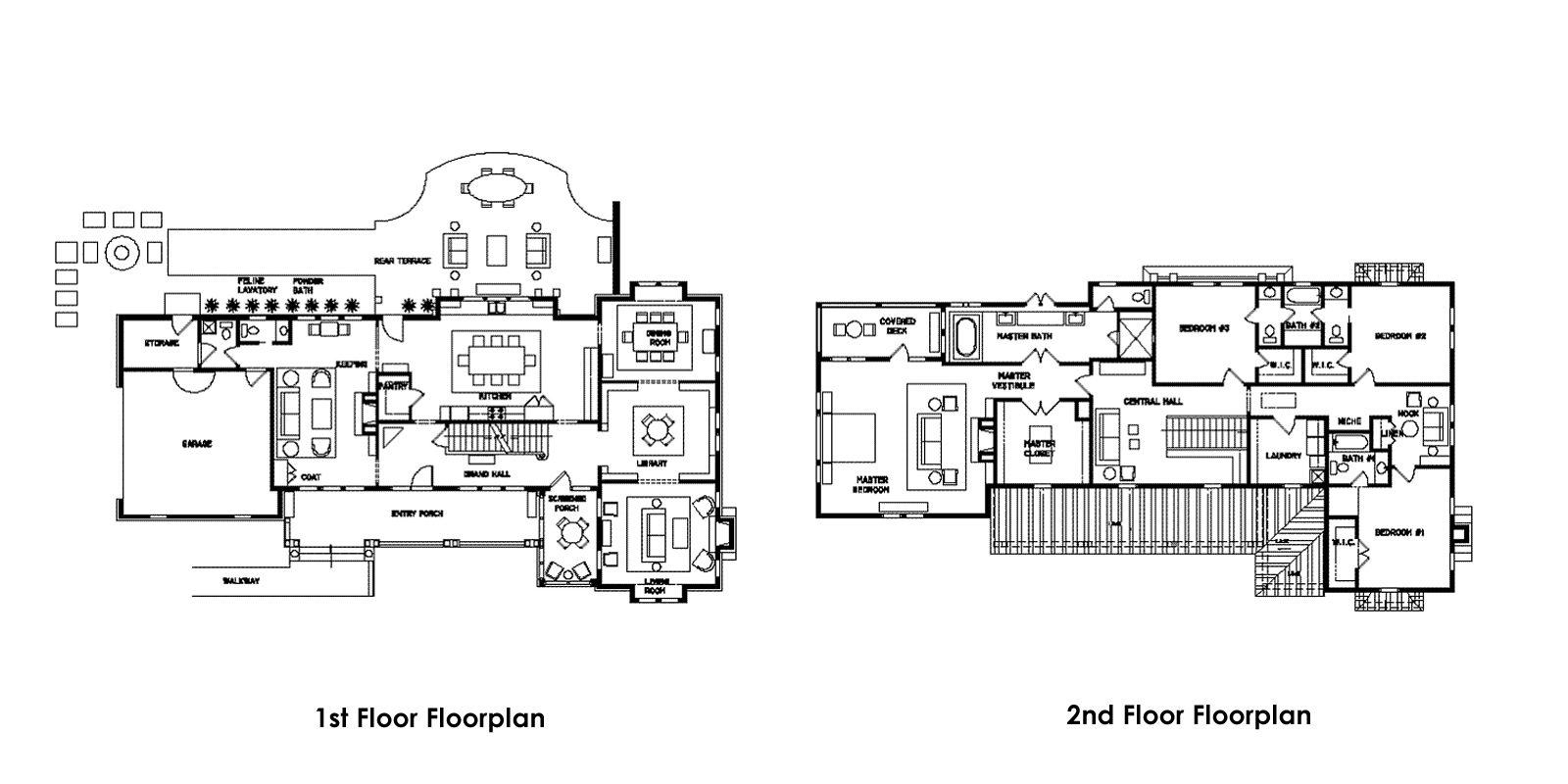 14 unique historic house floor plans building plans for Historic victorian house plans