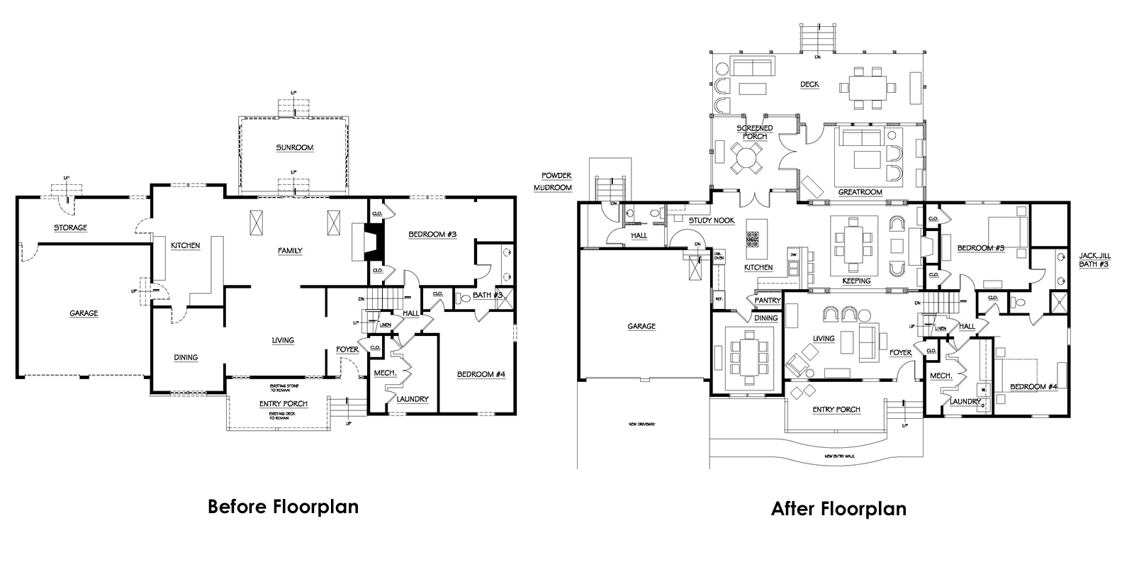 Dhsw70503 additionally Build underground house plans in addition 1 Story House Plans With Mother In Law Suite furthermore 2 Story House Plumbing Vent Diagram also Simple House Plans With Two Bedrooms. on ranch home addition floor plans